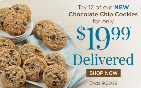 New Chocolate Chip Cookie Introductory Offer