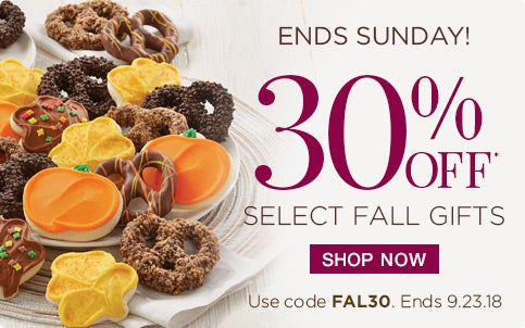 30% off Select Fall Gifts