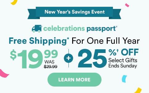 New Years Savings Event