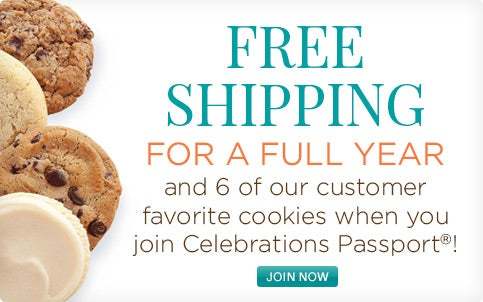 Free Shipping for a Full Year