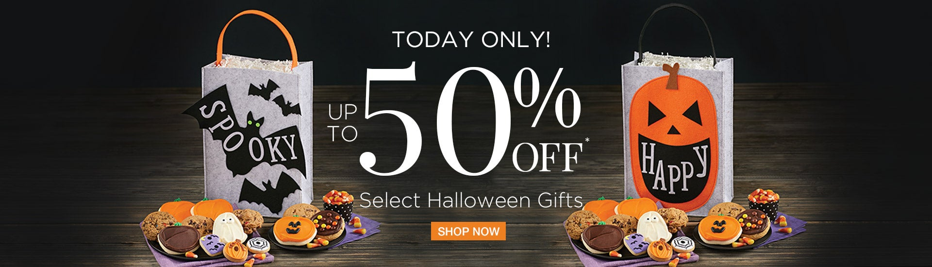 Save up to 50% on Select Halloween Gifts