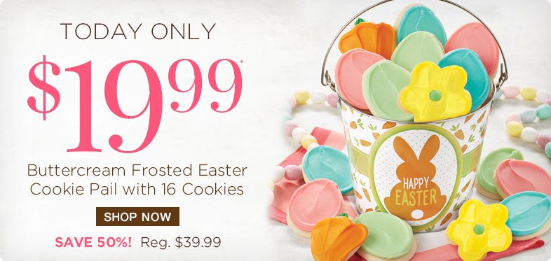 50% off Easter Pail