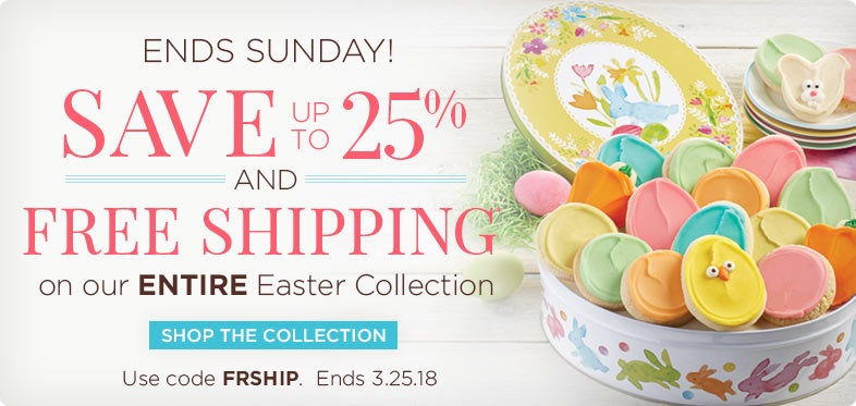 Save up to 25% and Free Shipping