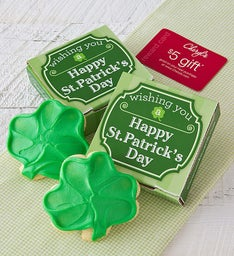 St Patrick's Day Cookie Card