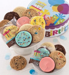 Musical Birthday Tin - Classic Cookies