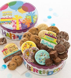Musical Birthday Gift Tin - Treats
