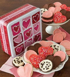Premier Valentine Gift Tin - Frosted