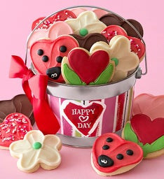 Valentine Frosted Cookie Pail