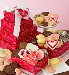 Valentine Bakery Gift Tower
