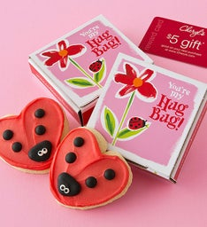 Hug Bug Cookie Card