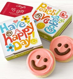 Happy Day Cookie Card - Pink